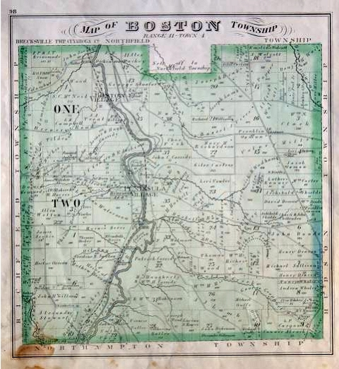 History   Boston Township